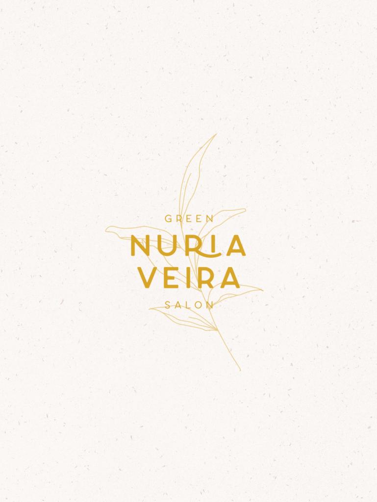NURIA VEIRA GREEN SALON -LOGO